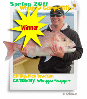 2011 Spring Whoppa Winner - Nick