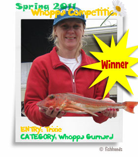 2011 Spring Whoppa Other Species- Winner