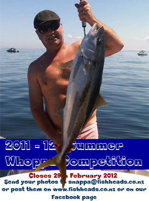 2011 - 12 Summer Whoppa Competition