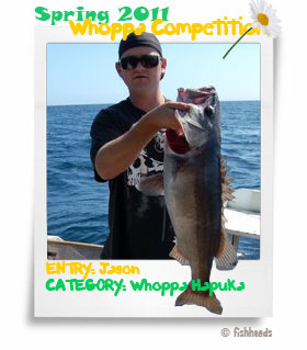Jason's 2011 Spring Whoppa Hapuka