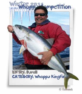 2011 Winter Whoppa Kingfish - Darell