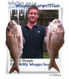 2011 Winter Whoppa Snapper - Joseph