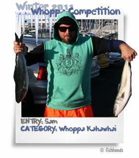 2011 Winter Whoppa Kahawhai - Sam